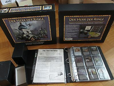 Middle Earth CCG Dark Minions – Limited complete German Collectors Box Set MEDM