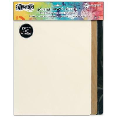 Dylusions Journal Insert Sheets - Large - 12 Pack