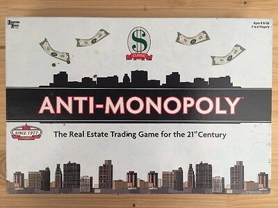 2005 Anti-Monopoly: The Real Estate Trading Game for The 21st Century Board Game