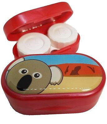 Cute Animals Mirror Case - Contact Lens Soaking Storage Case UK MADE - Koala
