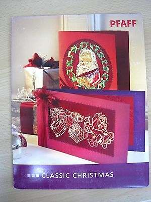"""Sewing Machine Embroidery CD - """"Classic Christmas"""""""