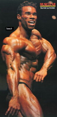 """206 GYM - Kevin Lecrone Body Building Muscle Exercise Work Out 14""""x28"""" Poster"""
