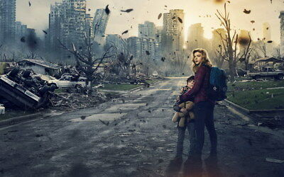 "018 The 5th Wave - Chloe Grace Moretz 2016 Science Fiction Movie 38""x24"" Poster"