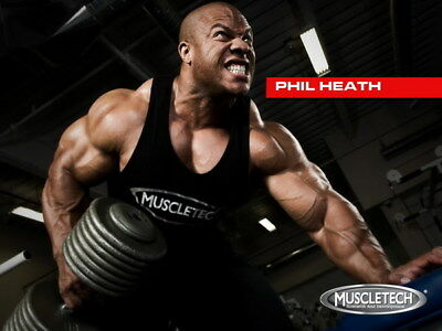 """251 GYM - Phil Heath Body Building Muscle Exercise Work Out 32""""x24"""" Poster"""
