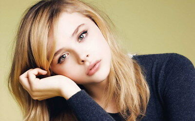 "064 Chloe Moretz - Hit Girl Beauty Hot Movie Actress Star 38""x24"" Poster"