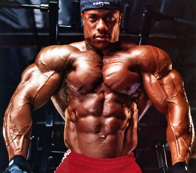 """253 GYM - Phil Heath Body Building Muscle Exercise Work Out 27""""x24"""" Poster"""