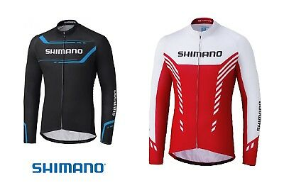 "SHIMANO "" Thermal Print Long Sleeve Jersey "" Wintertrikot UVP 89,95 Euro"