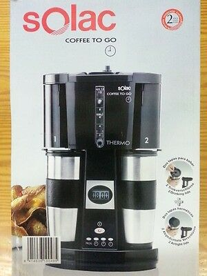 Cafetera Solac Cf4015 Coffe To Go