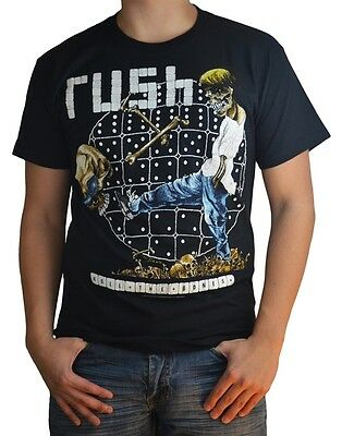 Rush: Roll The Bones T-Shirt (Small)  New  Official Free Shipping