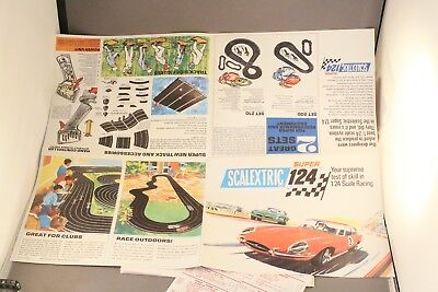 scalextric 124 repro leaflets as shown