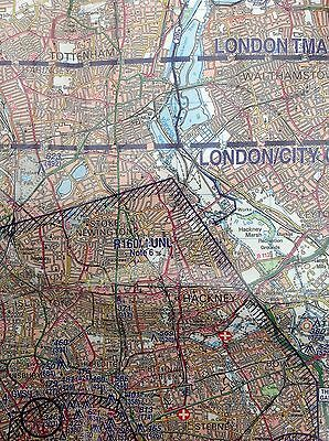 Helicopter Routes London Control Zone 1:50,000 Scale Chart *LATEST EDITION 17*