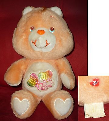 Bisounours VINTAGE care bear Gros rêveur daydream UK exclusive Kenner RARE !