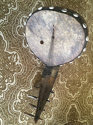 collectible handmade antique musical instrument