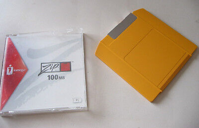 Iomega Zip Disc 100MB disk New Disk used fully working Disc
