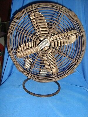 Old Vintage Metal Table Fan from India 1960