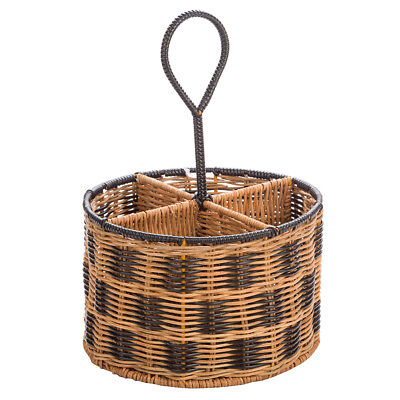 NEW The Outdoor Dept Woven Caddy Round Natural