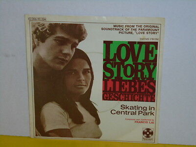 "Single 7"" - Francis Lai - Love Story"