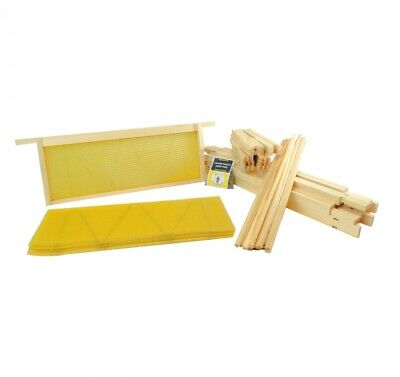 National Beehive Wired Wax Foundation Sheets, Frames and Pins