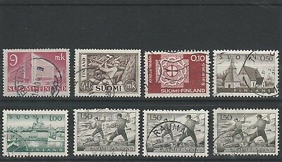 Finland - Assorted Used Stamps
