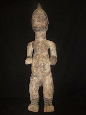 The Old Yoruba Epa Female Figure Nigeria Africa Fes- gb369