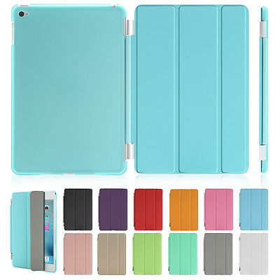 Smart Cover for Apple iPad Air/iPad Air 2 Magnetic Leather Cover & Hard Case lot