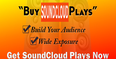 30,000 High retention SoundCloud plays to your track within 24 hours