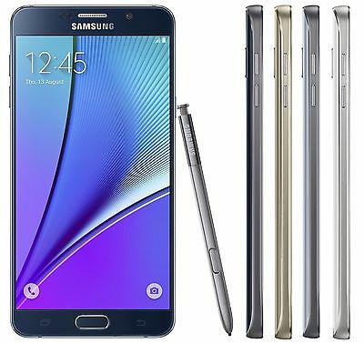 New Unlocked Samsung Galaxy Note 5 SM-N920A 32gb 4G LTE Smartphone Black/White