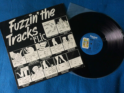 "Flic - Fuzzin The Tracks 12"" UK 1984 VG+/VG+  #  Funk / Soul - Disco"