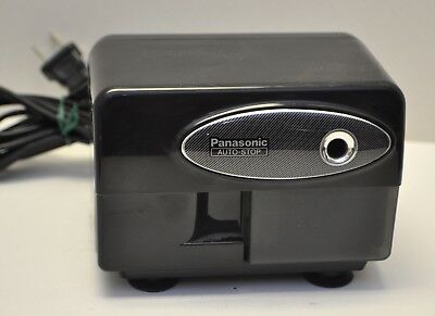 Panasonic KP-310 Electric Auto-Stop Black Pencil Sharpener