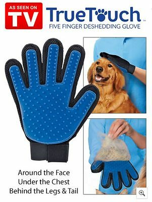 True Touch Deshedding Glove  Gentle and Efficient Puppy Grooming As Seen On TV
