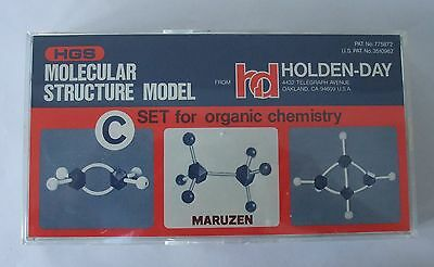 HGS Molecular Structure Model C Set For Organic Chemistry INCOMPLETE Holden Day
