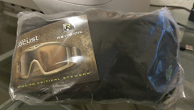 Genuine Revision Desert Locust Foliage Green Military Goggle System - NEW