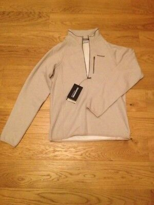 Craghoppers Mens Walking Hiking Jumper Swainby Half Zip Parchment Size Small
