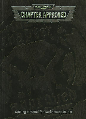 Warhammer 40,000 - Chapter Approved 2001  Edition