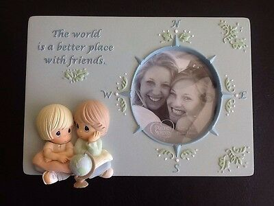Precious Moments The World Is A Better Place w/Friends  Picture Frame