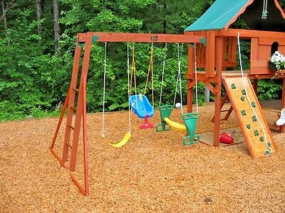 Softwood Play Area Bark Playground Grade Chippings Wood Chips 1000 Litre Bag