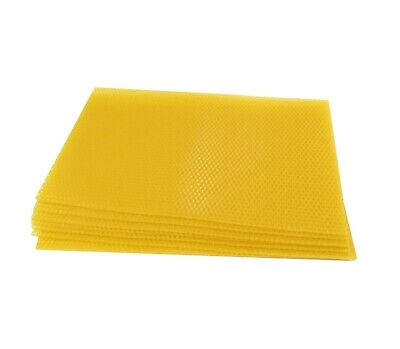 Beekeeping National Deep/Brood Unwired Wax Foundation Sheets