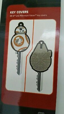 Star Wars Key Covers The Force BB8 Droid & Millenium Falcon