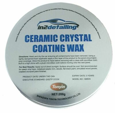 in2Detailing Ceramic Crystal Wax 200g, Great Beading, Durable & Easy Use, Tonyin
