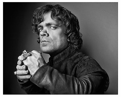 """GAME OF THRONES--PETER DINKLAGE-- """"Tyrion Lannister"""" Glossy 8x10 Photo (b)"""