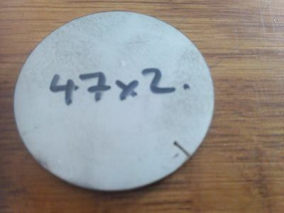 2mm Stainless Steel Disc 47x2