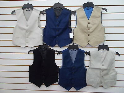 Boys Assorted Vest Size 6 - 18/20