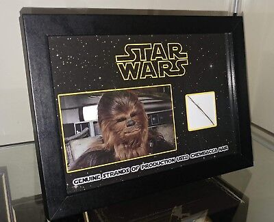 Star Wars Rare Chewbacca Hair Display Prop