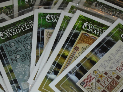SILVER CREEK SAMPLERS Counted Cross Stitch Patterns DIANE GRICK You Choose!