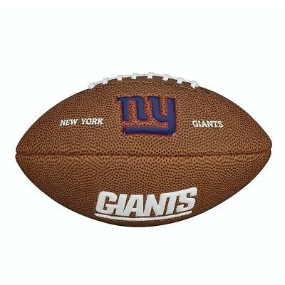 New York Giants Wilson NFL Team Logo Mini Football Ball