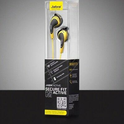 Jabra Active Secure Fit Stereo Headset Headphones Earphones Brand New