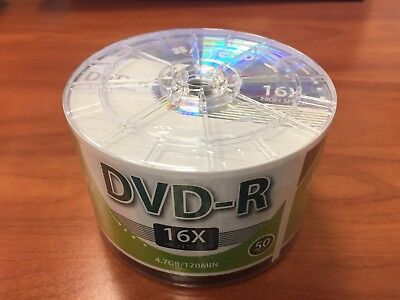 MyEco DVD-R DVDR 16X 4.7GB/120Min Logo Top Write Once Blank Media Record Disc