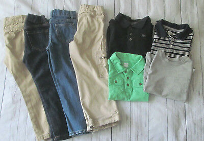 8 Piece Toddler Boys Old Navy Lot Spring/ Fall Clothing Bundle Size 5T