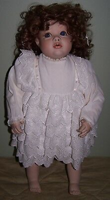 """Artist Made Victoria Rose Doll - Gorgeous Face - 22"""" Height"""