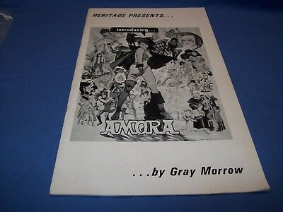 Heritage Presents ... Amora... by Gray Morrow 1971